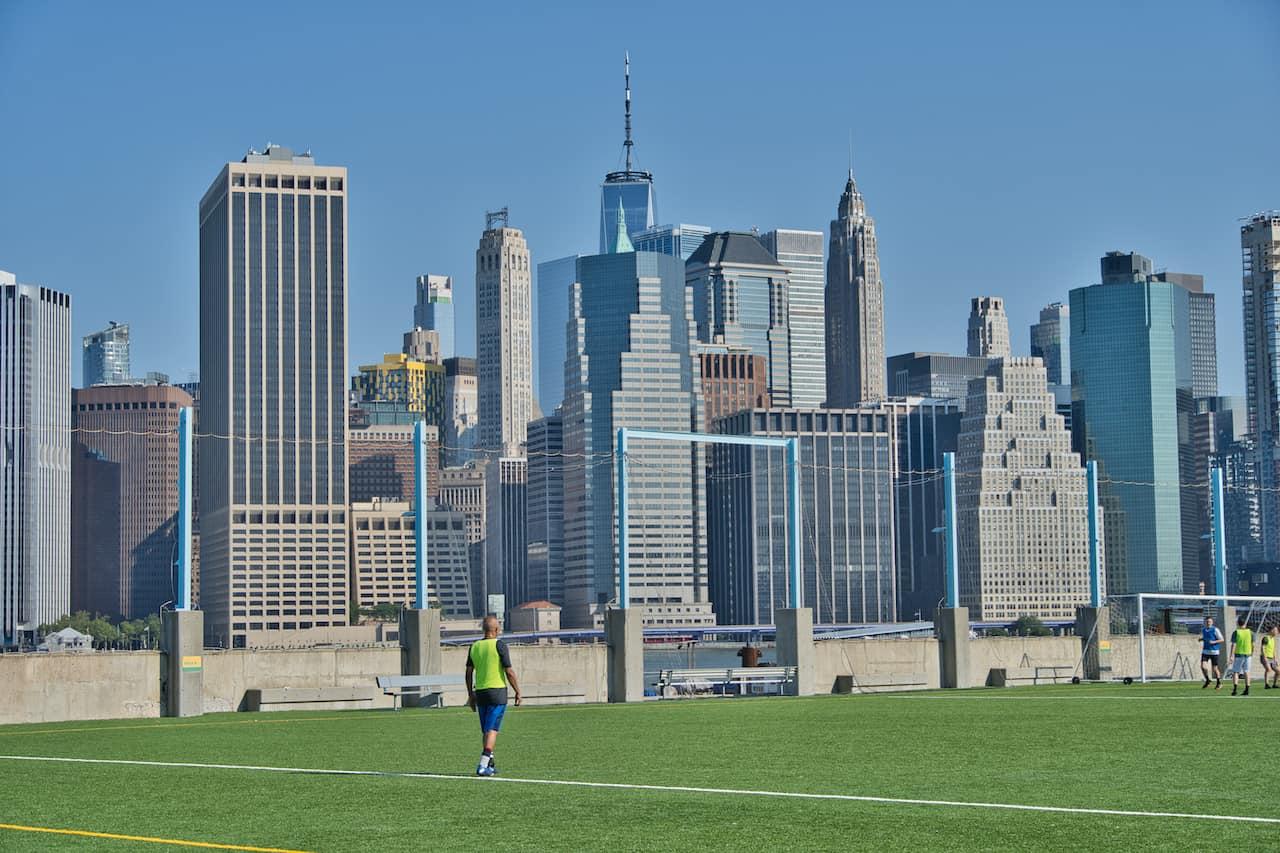 Brooklyn Bridge Park Pier 5 Fields