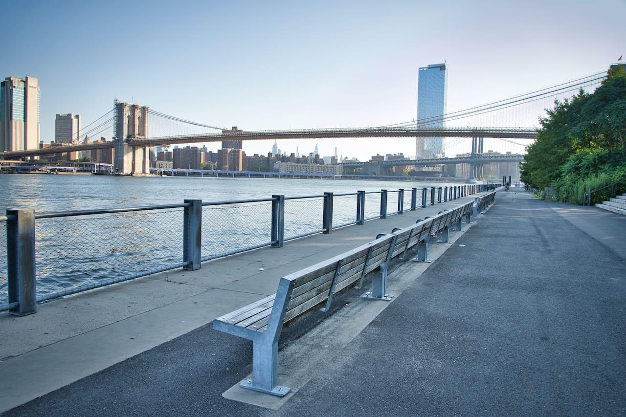 Brooklyn Bridge Park Walkway
