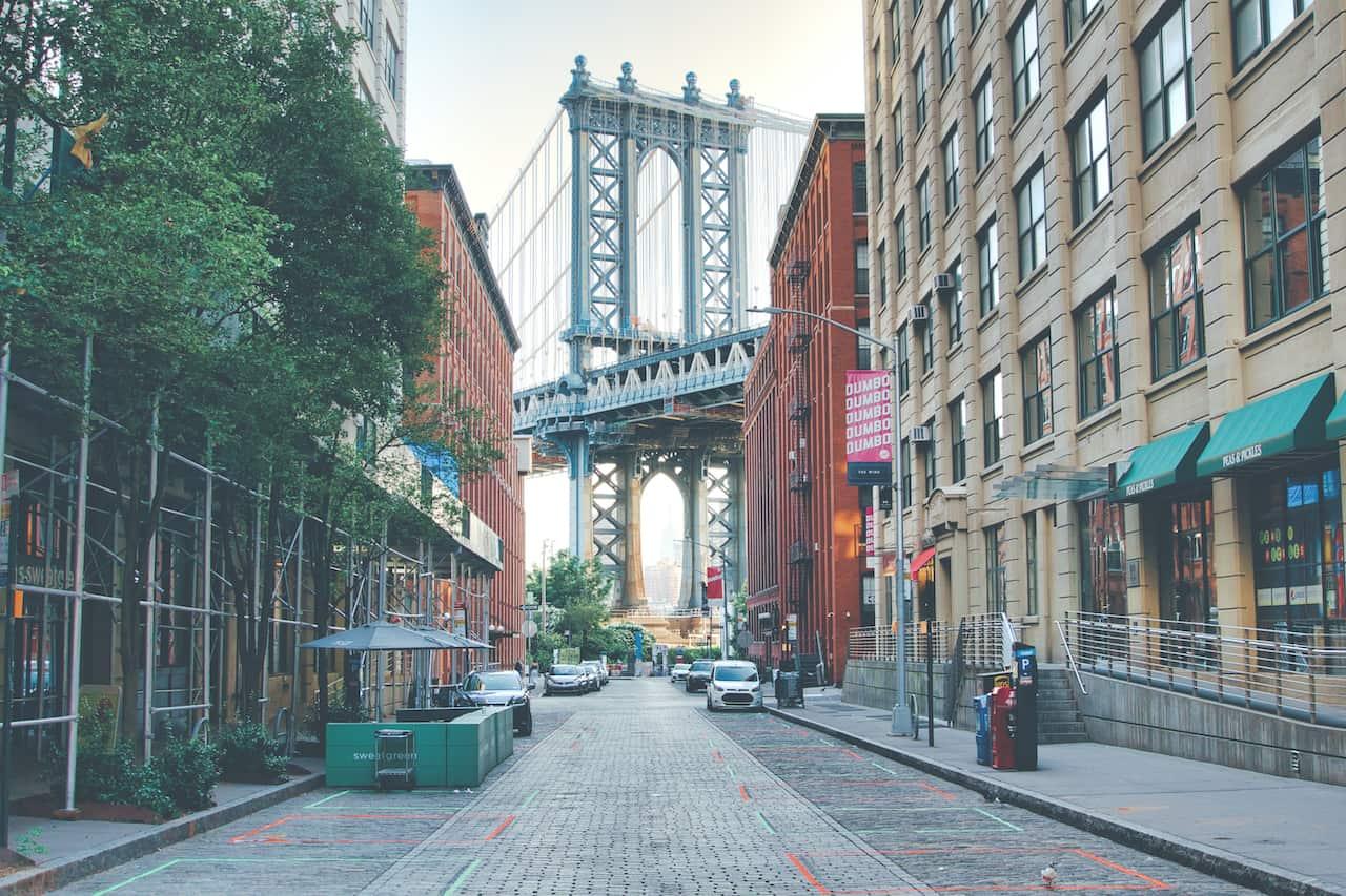 Dumbo Bridge Picture