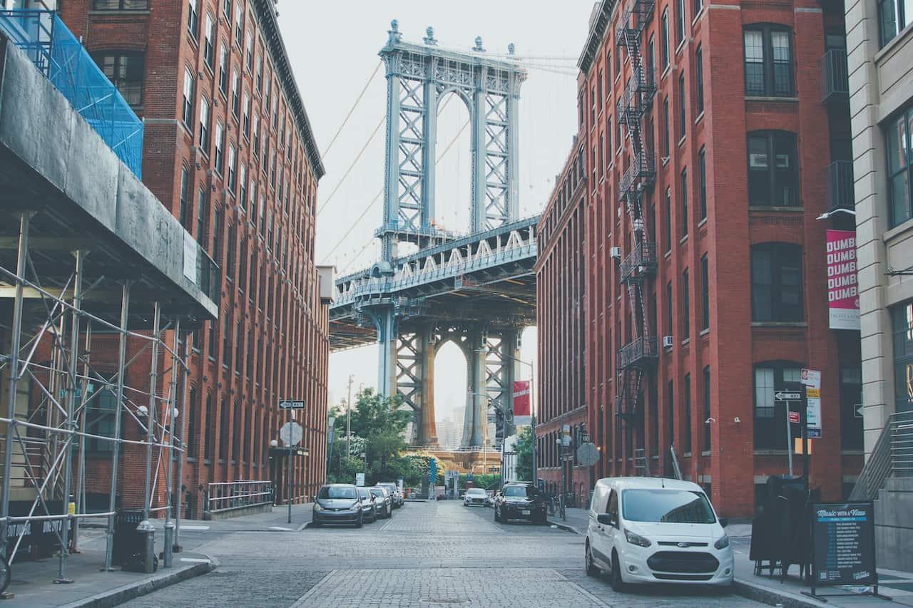 Dumbo Manhattan Bridge View
