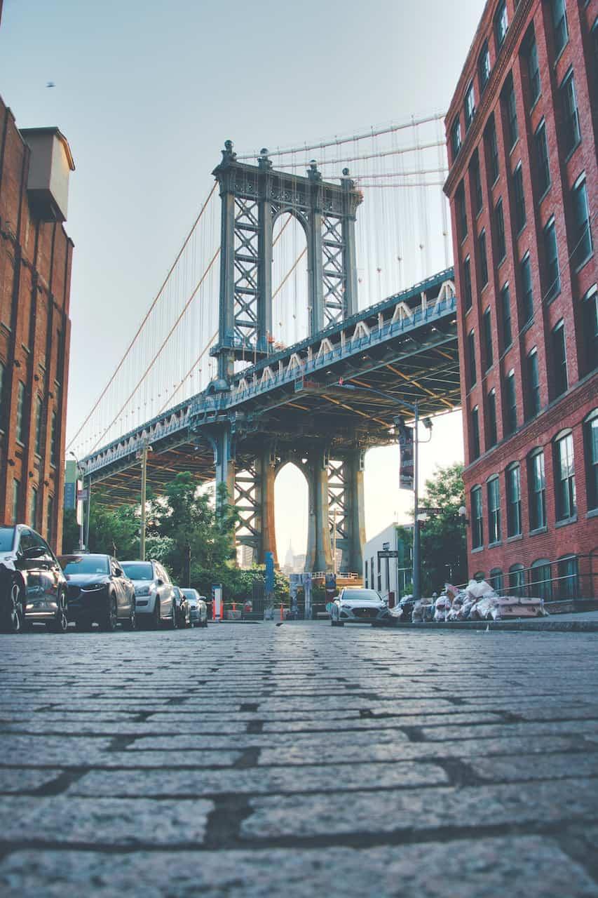 Manhattan Bridge Dumbo View
