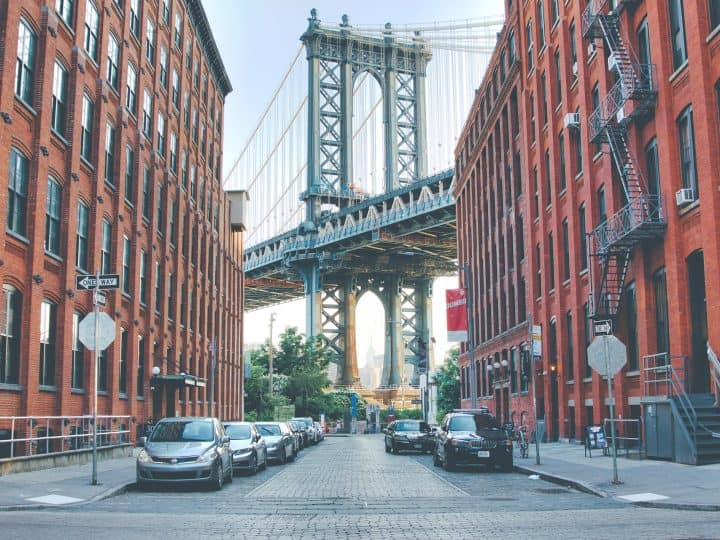 Visiting the Manhattan Bridge View Spot in Dumbo