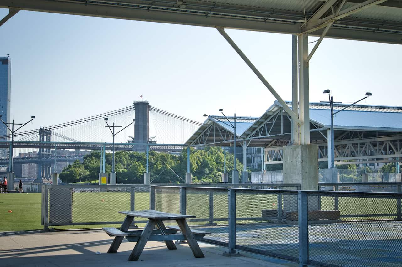 Pier 2 Brooklyn Bridge Park