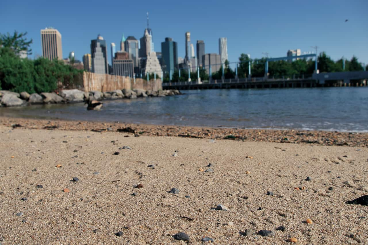 Pier 4 Beach Brooklyn