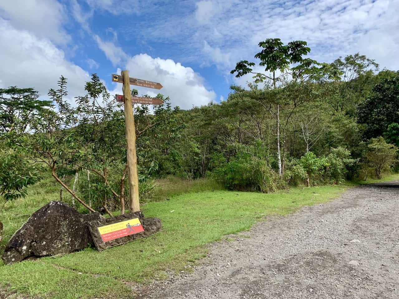 Arenal 1968 Hiking Routes