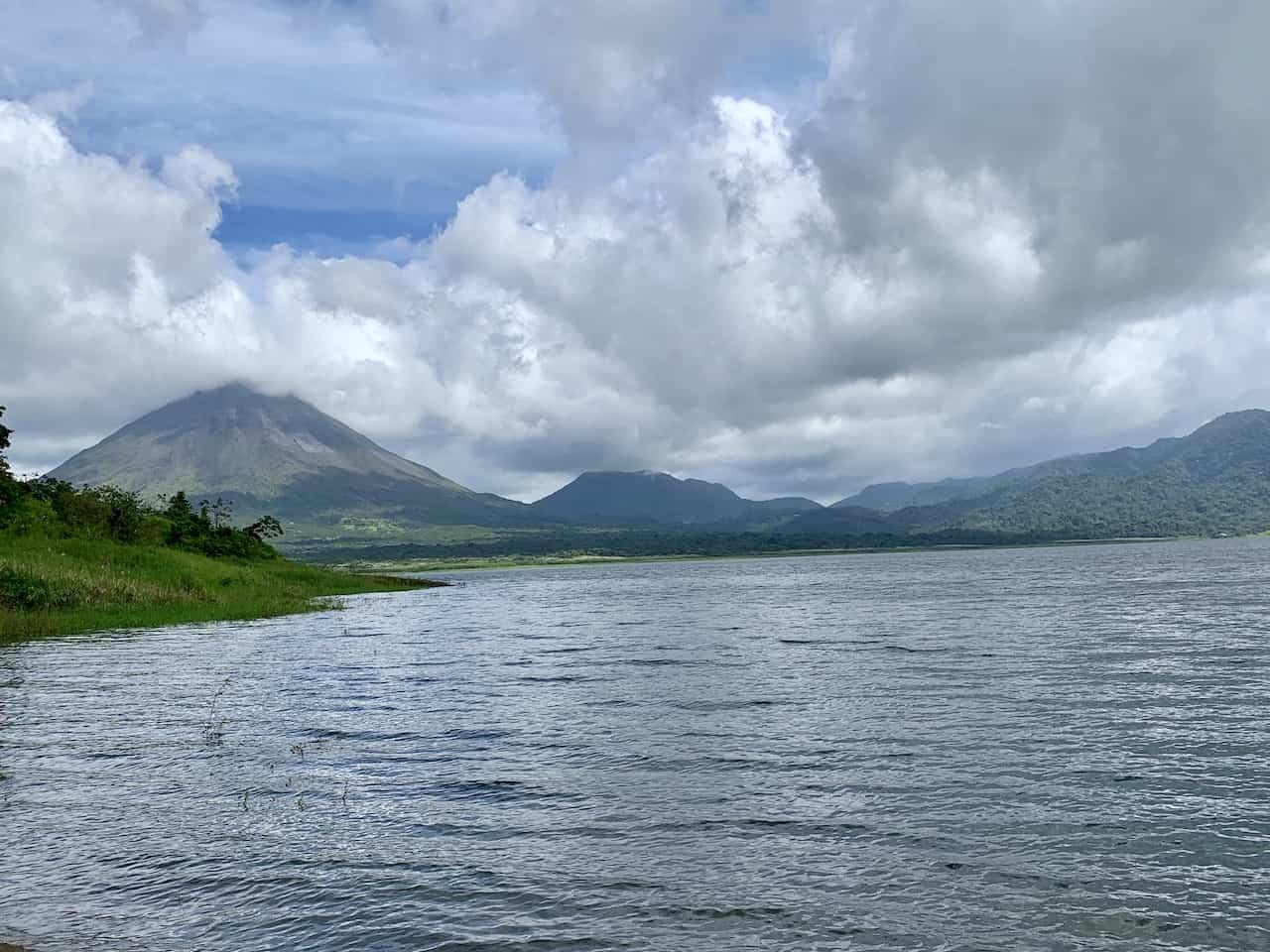 Arenal National Park Peninsula Lake