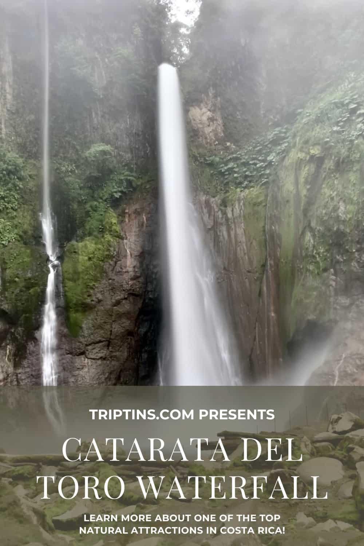 Catarata Del Toro Waterfall of Costa Rica