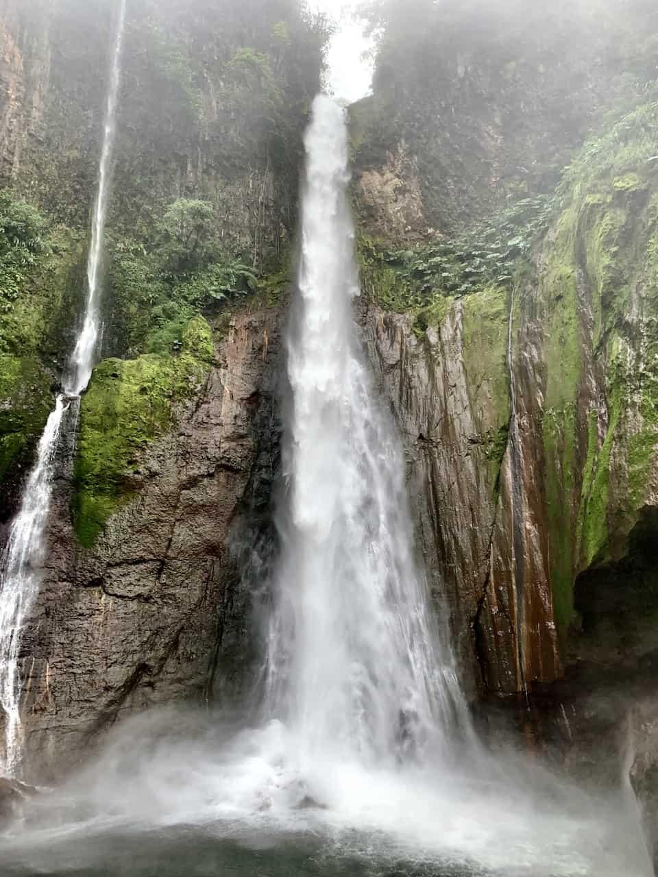 Catarata del Toro Waterfall Costa Rica