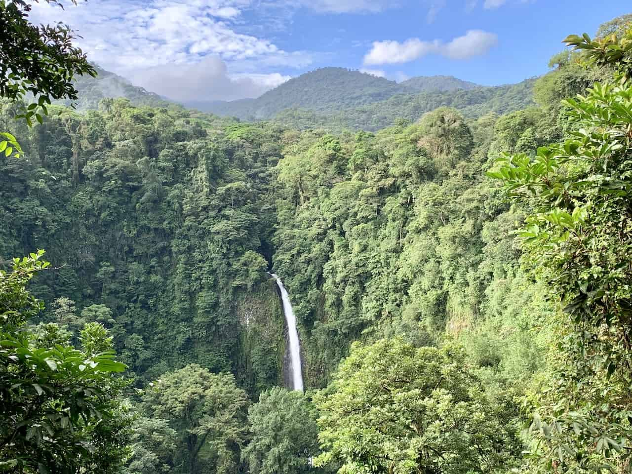 Costa Rica Waterfall Fortuna