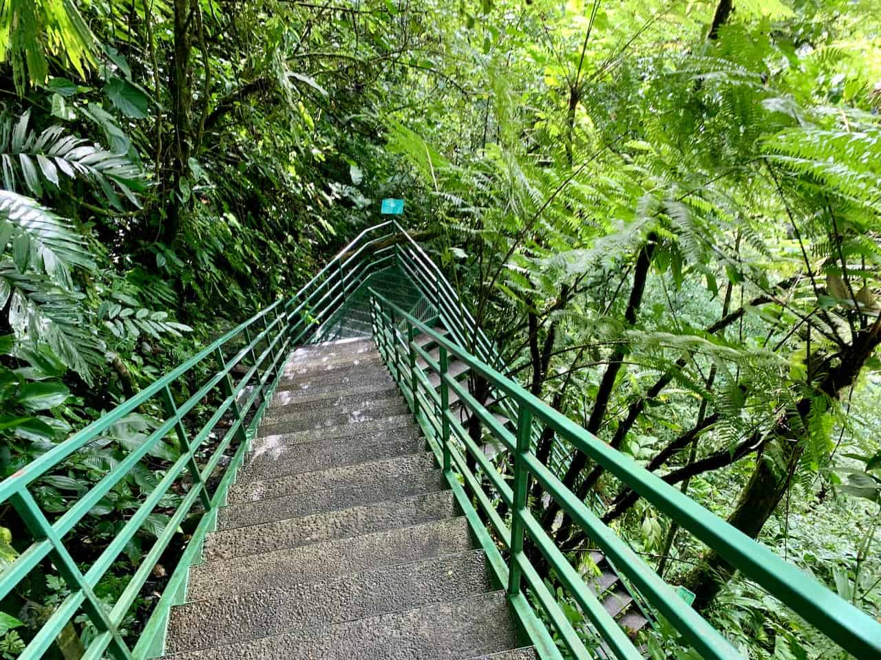 La Fortuna Waterfall Steps