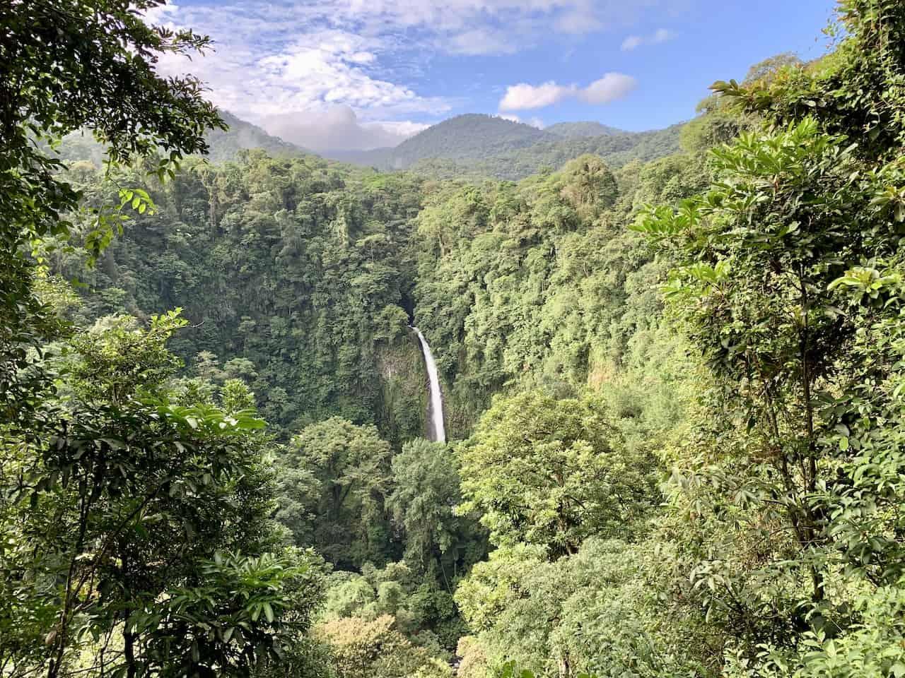 La Fortuna Waterfall Viewpoint