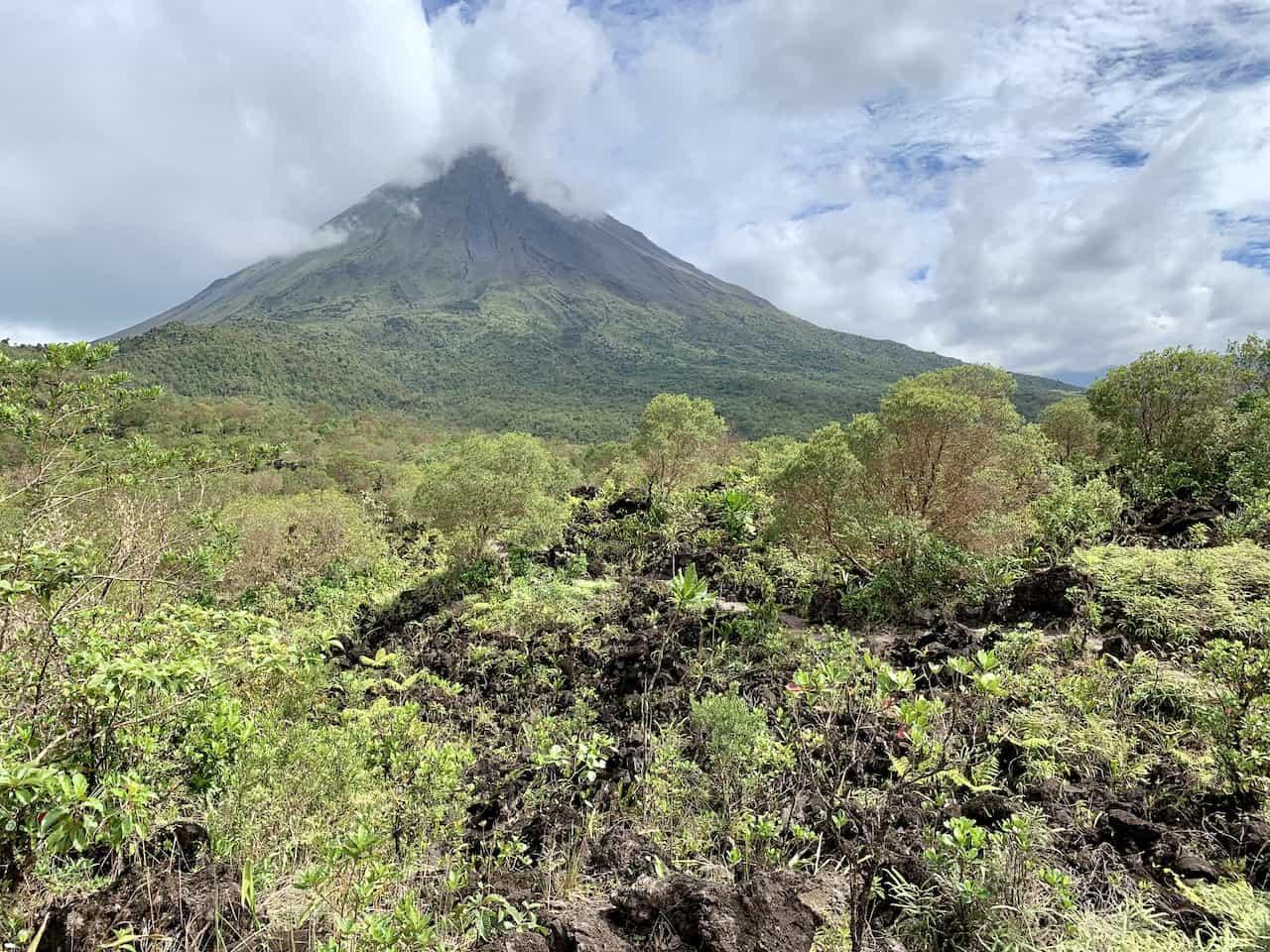 Lava Flow Arenal Volcano