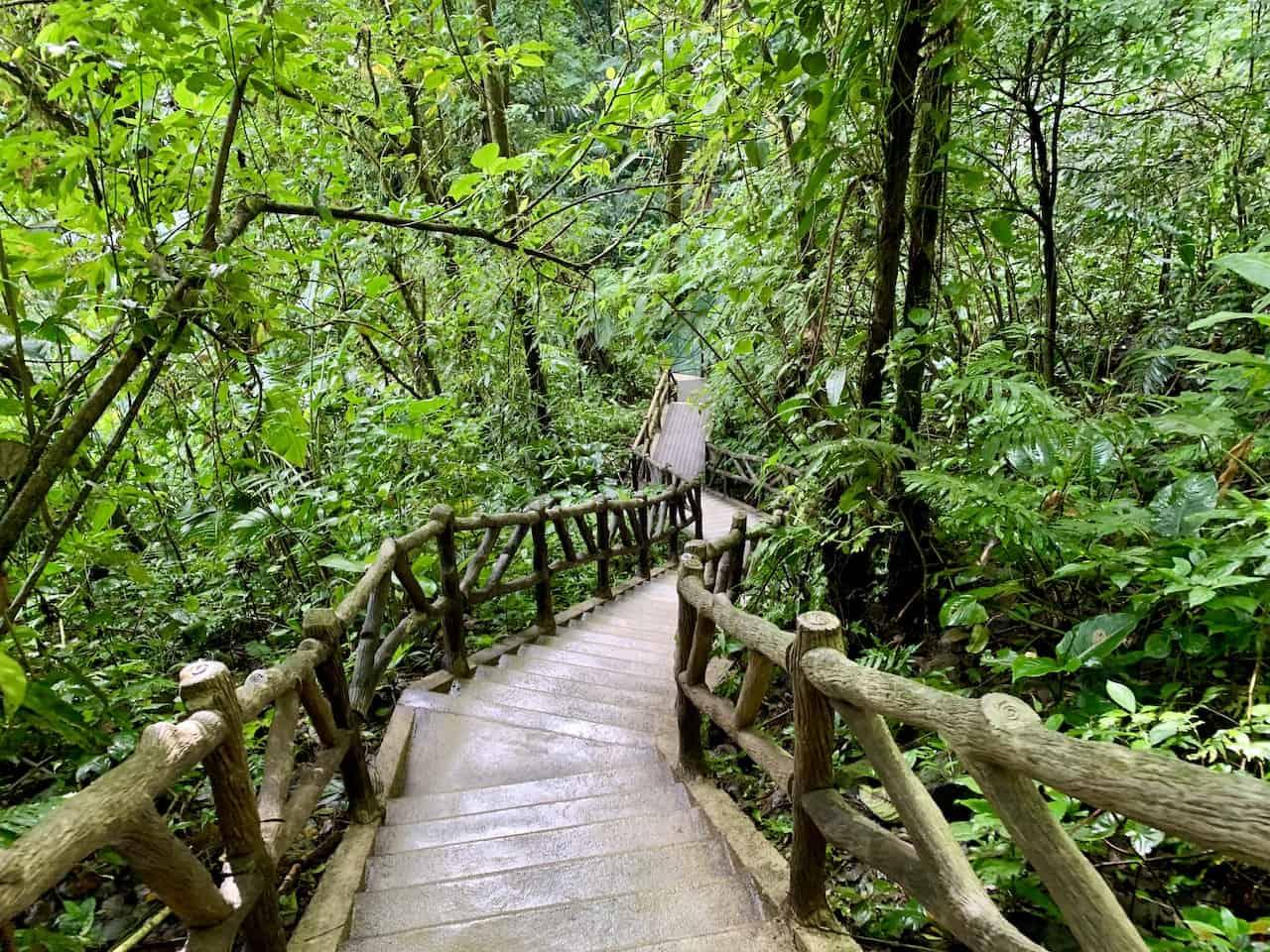 Staircase to La Fortuna Waterfall