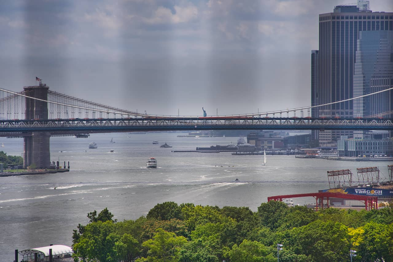 Statue of Liberty Bridge View