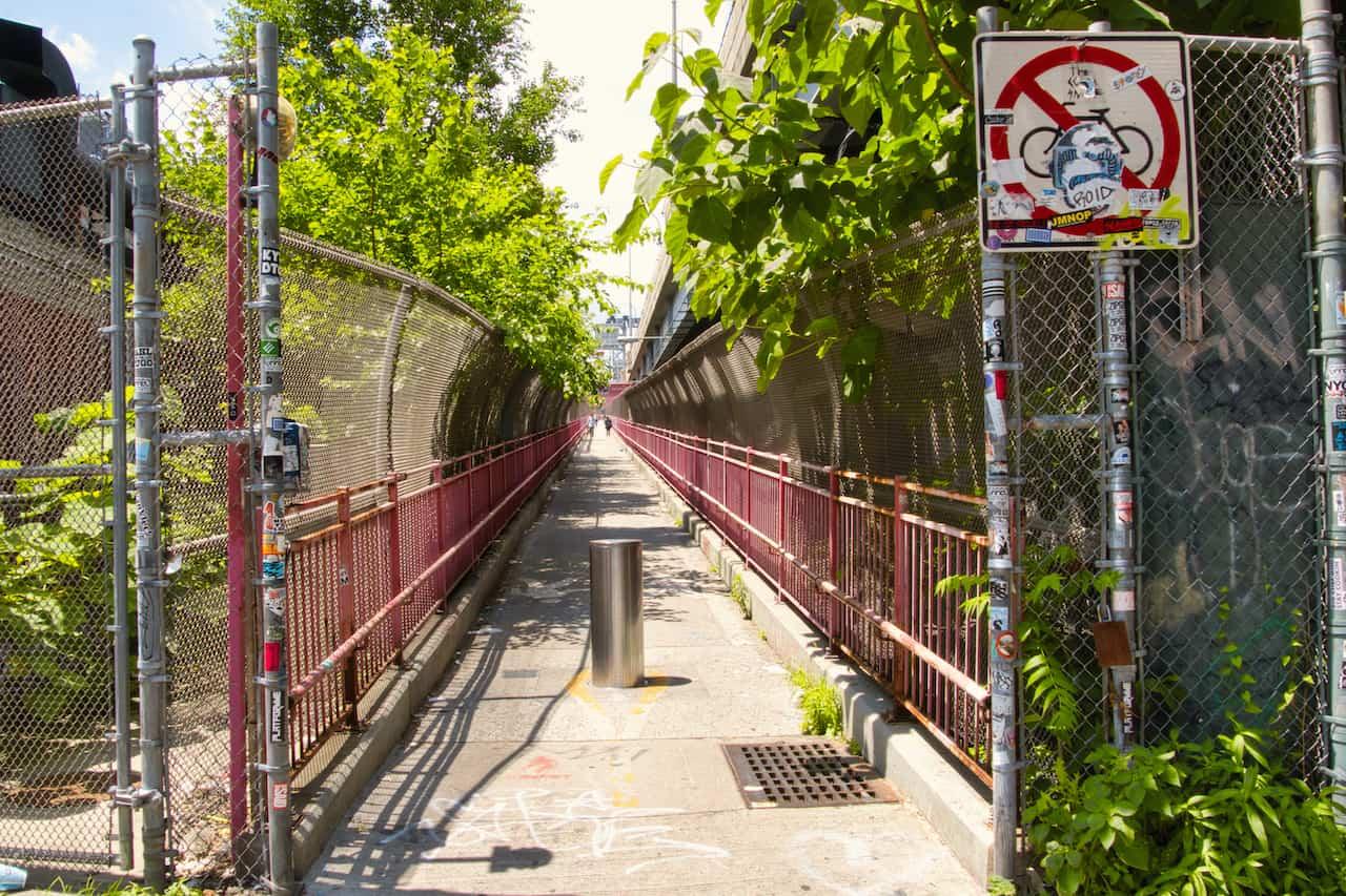 Williamsburg Bridge Brooklyn Entrance