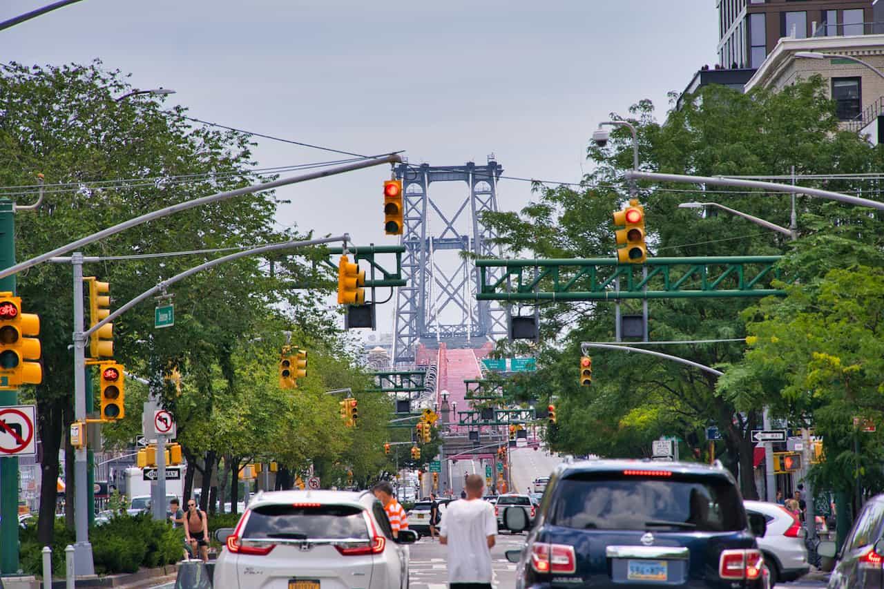 Williamsburg Bridge Delancey Street