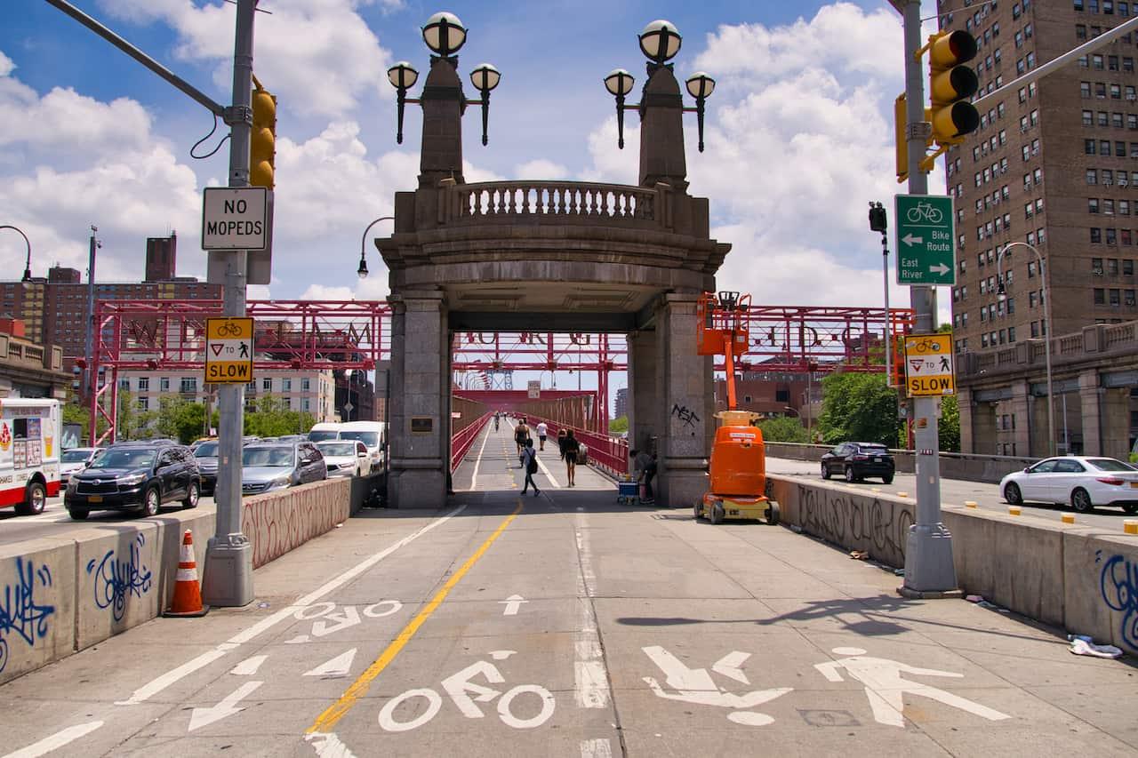 Williamsburg Bridge Entrance