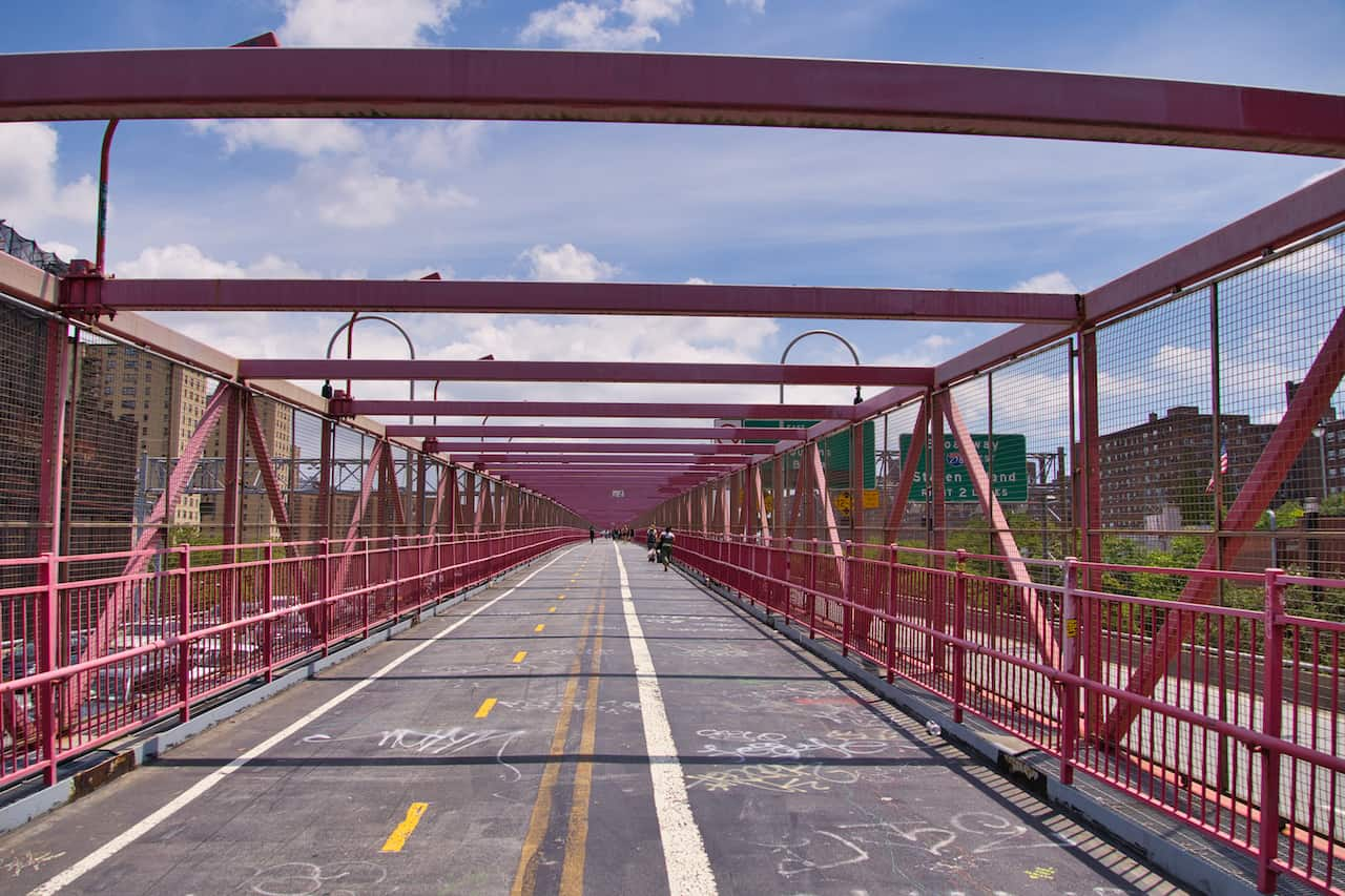 Williamsburg Bridge Pedestrian Walk