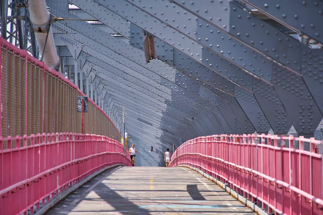 Williamsburg Bridge Pedestrian Walkway