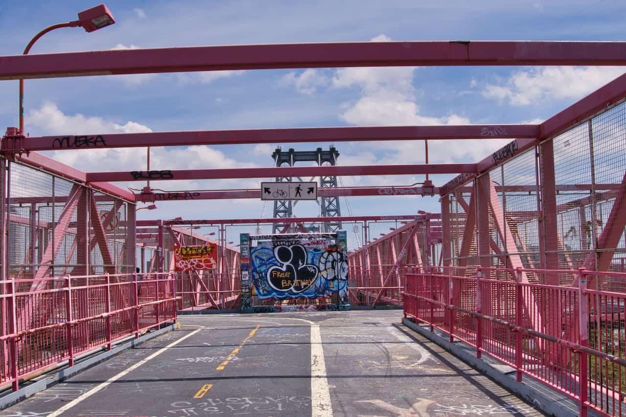 Williamsburg Bridge Pedestrian and Bicycle Lanes