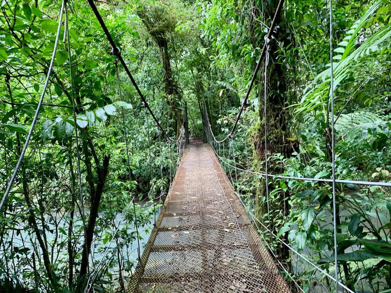 Celeste Suspension Bridge