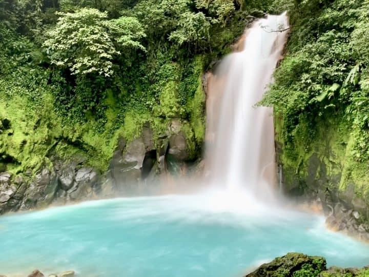 Visiting Rio Celeste Waterfall of Costa Rica